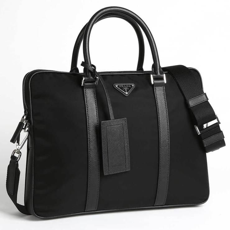 7e30d1db6f36 Prada Men's Black Briefcase | Costco UK