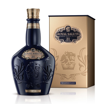 Royal Salute 21 Year Old Whisky, 70cl