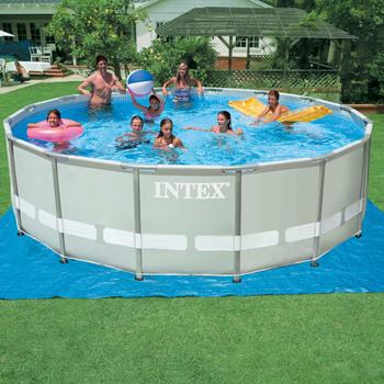 Pools inflatables costco uk for Pied piscine intex