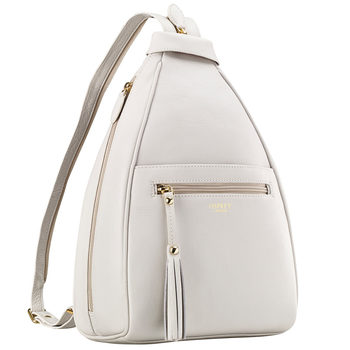 Osprey London Hampstead Leather Rucksack in White