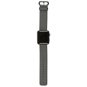 Apple Watch Series 2, 38mm Space Grey Aluminium Case with Black Woven Nylon Band