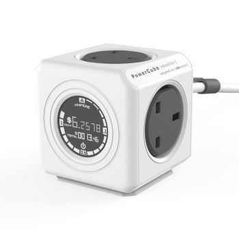 PowerCube Extension Plug with Cost Calculator and 1.5m Cable