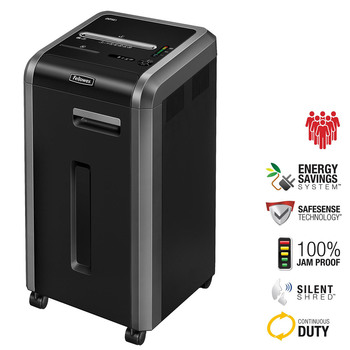 Fellowes Powershred 225Ci Shredder, 60L, Cross-Cut