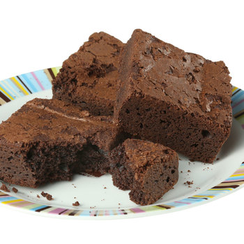 Popkakery 16 Gluten Free Chocolate Brownies