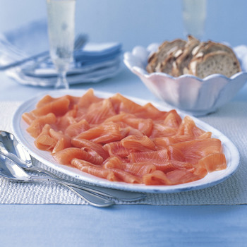 H. Forman & Son London Cure Hand Sliced Smoked Scottish Salmon, 1.2kg (Serves 10-12 people)