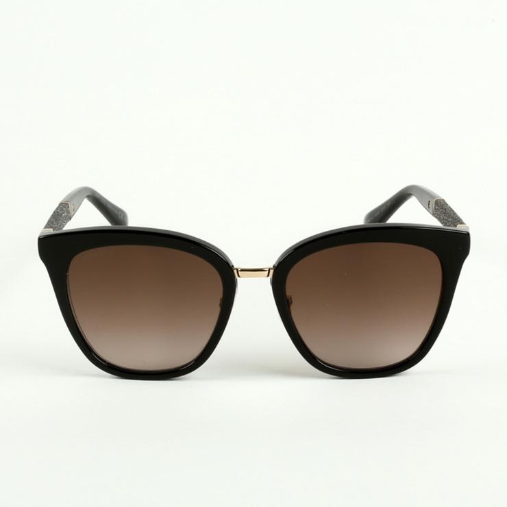 Jimmy Choo. FABRY - Sonnenbrille - black. Breite:14.2 cm