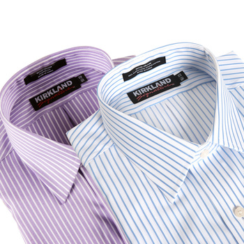 Kirkland Signature Men's Spread Collar Shirts