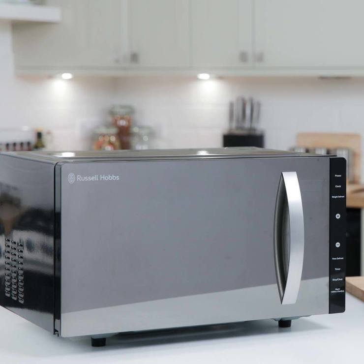 Russell Hobbs RHFM2363B 800W Solo Flatbed Microwave In