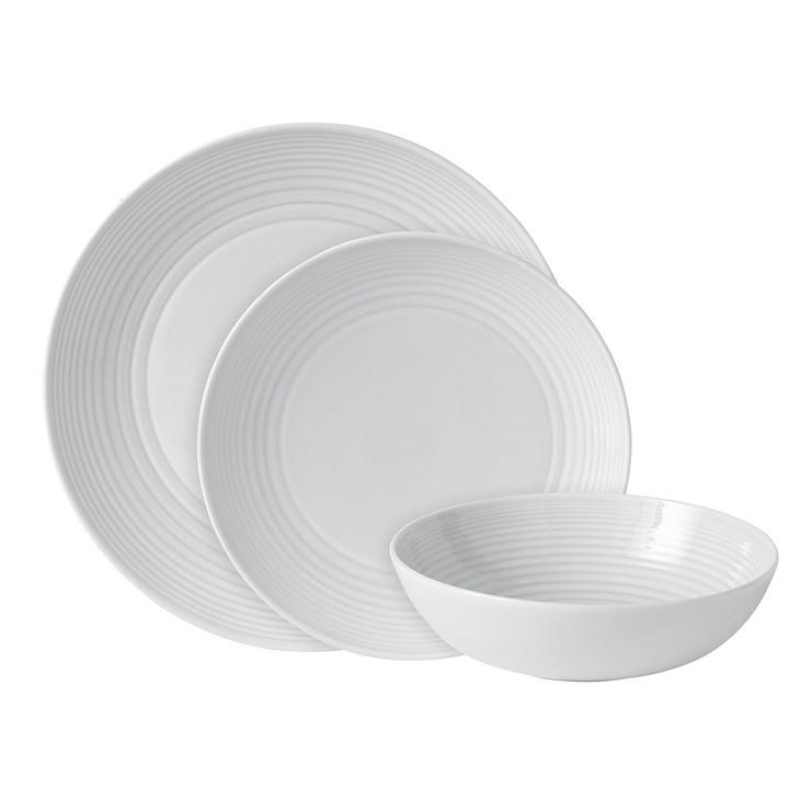 Gordon Ramsay Maze 12 Piece Dinnerware Set in White | Costco UK
