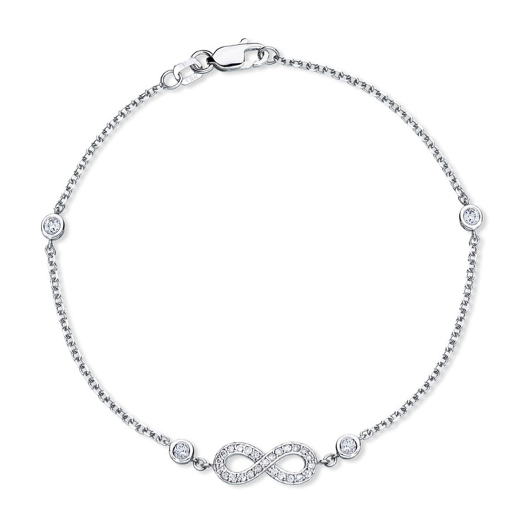 created love macys fpx diamond ct bracelet sterling t in silver image w main for wrapped infinity gold shop product
