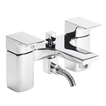 Tavistock Siren Deck Mounted Bath and Shower Mixer Taps - Model TSN42