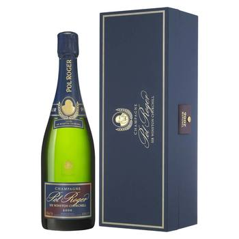 Pol Roger Cuvee Sir Winston Churchill 2006, 75cl with Gift Box
