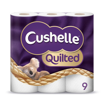 Cushelle Quilted Toilet Tissue, 45 Rolls