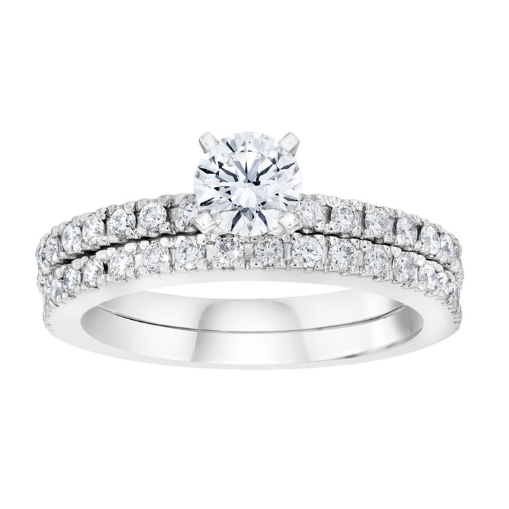 rings halo plus side products wedding trapezoid mullen vintage diamond dimand with stone engagement ring
