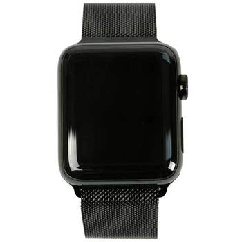 Apple Watch Series 2, Space Black Stainless Steel Case with Milanese Loop in 2 Sizes