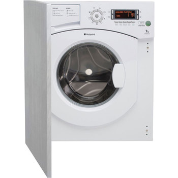 Hotpoint 7kg, 1300rpm BHWMD732UK Integrated Washing Machine, A++ Rating in White