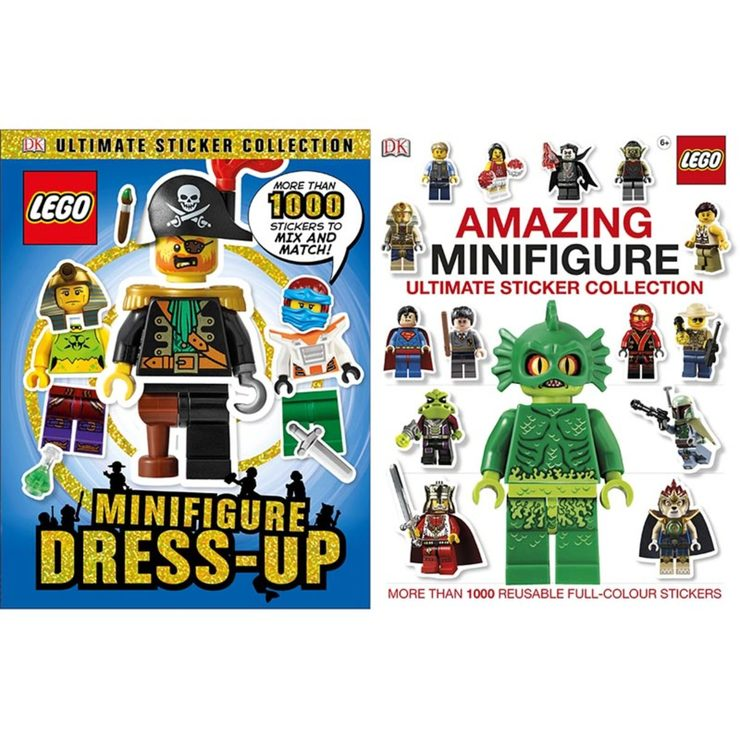 LEGO Minifigure and Ultimate Sticker Collection 2 Pack | Costco UK