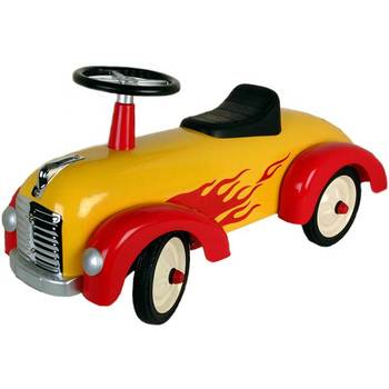 Great Gizmos Speedster Yellow and Red Ride On - Model 8301 (1-3 Years)