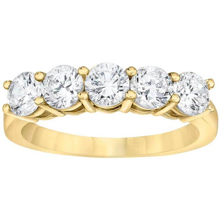 rings diamond jewellery band gifts bands brilliant ring round p cut gold stone yellow apparel