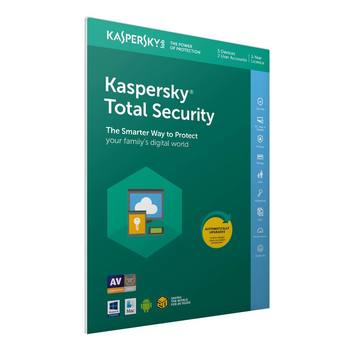 Kaspersky Total Security 2018 5 Devices, 1 Year