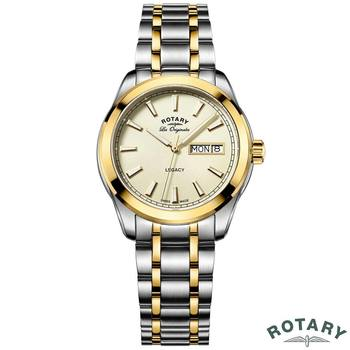 Rotary Legacy Gents Two Tone Swiss Watch GB90174/03