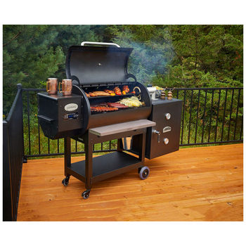 Louisiana Grills Series LG900 Grill + Cold Smoke Cabinet + Cover