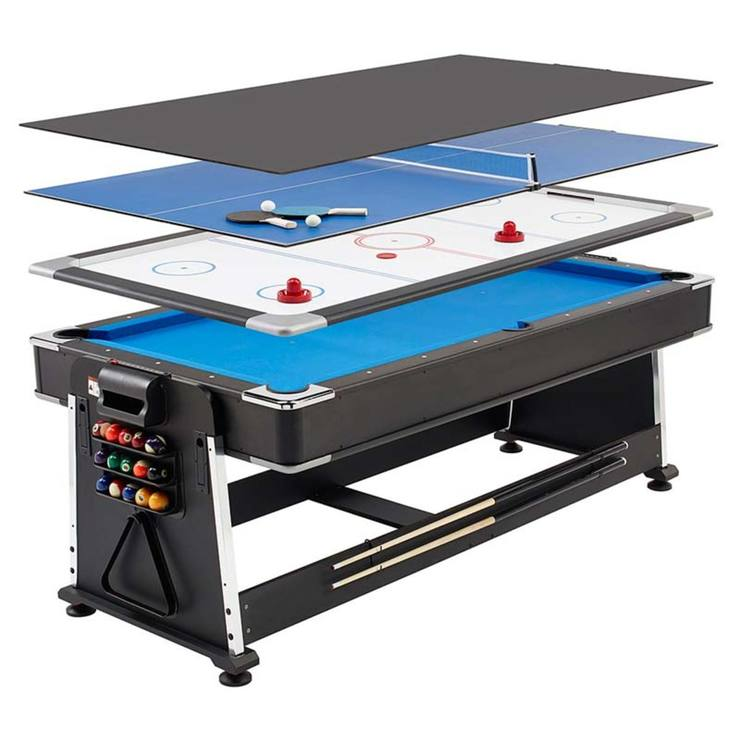 mightymast leisure revolver 7ft 3-in-1 multigames table | games