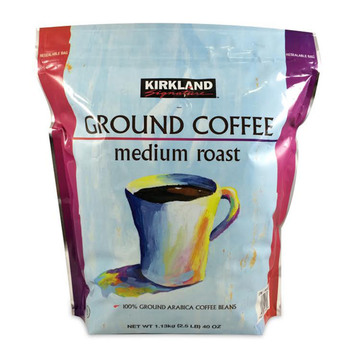 Kirkland Signature Medium Roast Ground Coffee, 1.13kg