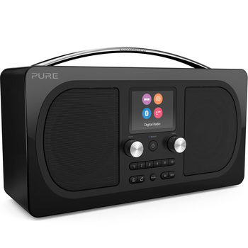 Pure Evoke H6 Prestige Edition Digital DAB+/FM Radio with Bluetooth in Black