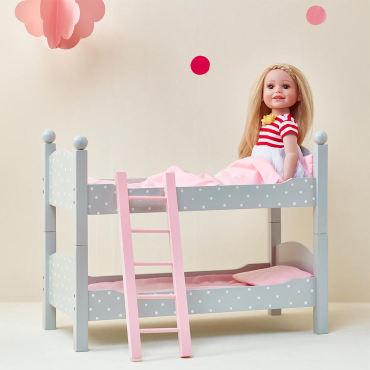 Olivia S Little World 18 45 7cm Doll Double Bunk Bed 3 Years