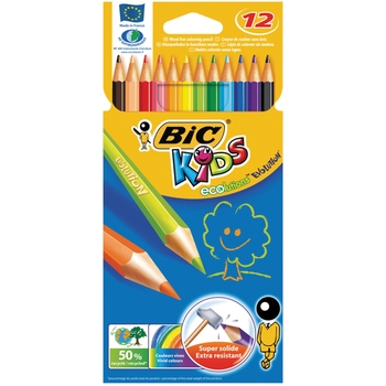Bic Kids Colouring Pencils - 12 Pack