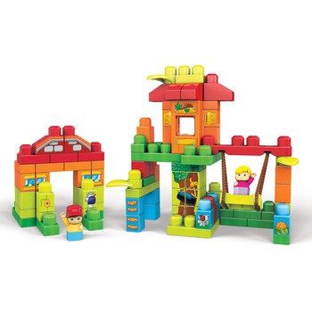 Mega Bloks 120 Piece Treehouse Playdate Building Set (1-5 Years)
