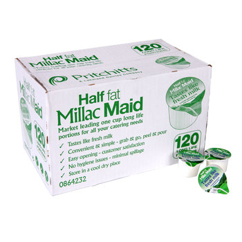 Half Fat Millac Maid, 120 Portions