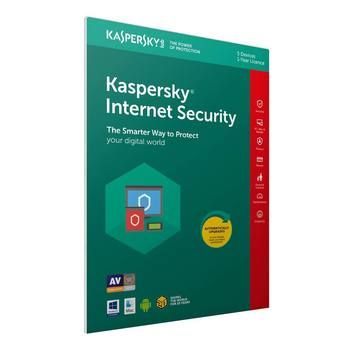 Kaspersky Internet Security 2019, 5 Devices 1 Year