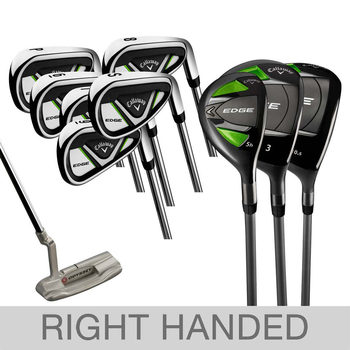 Callaway Edge 10 Piece Golf Set - Right Handed