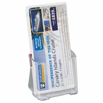 Deflecto Clear A4 Rigid Literature Holder DE775YTCRY