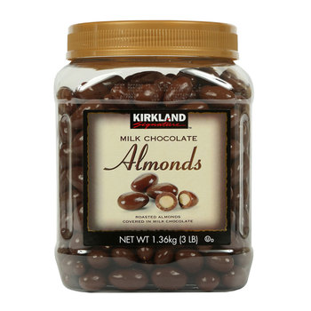 Kirkland Signature Milk Chocolate Almonds, 1.36kg