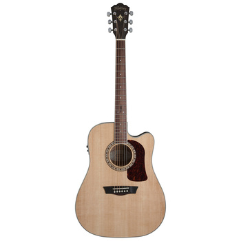 Washburn HD10SCE Natural Electro-Acoustic Guitar