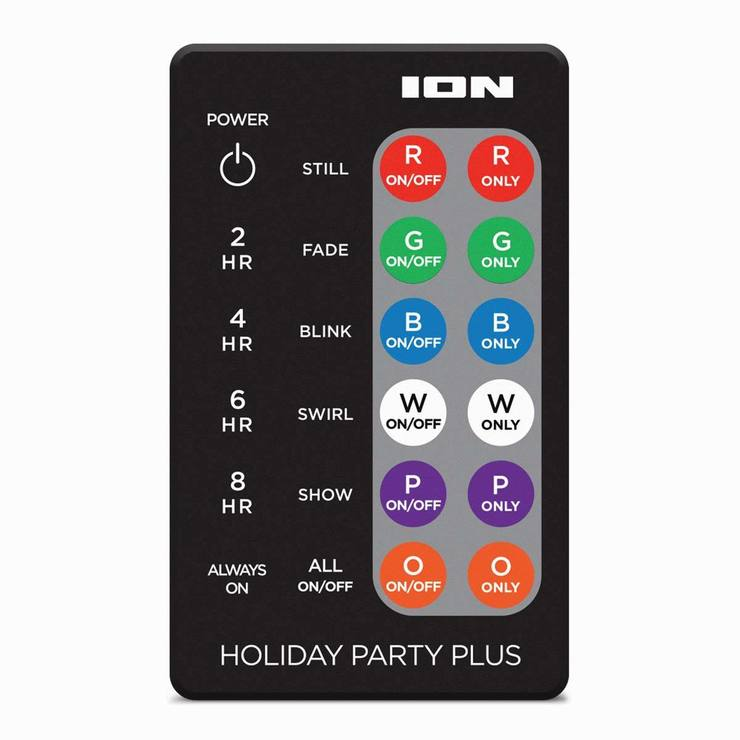 Reject Shop Christmas Solar Lights: ION Holiday Party Light