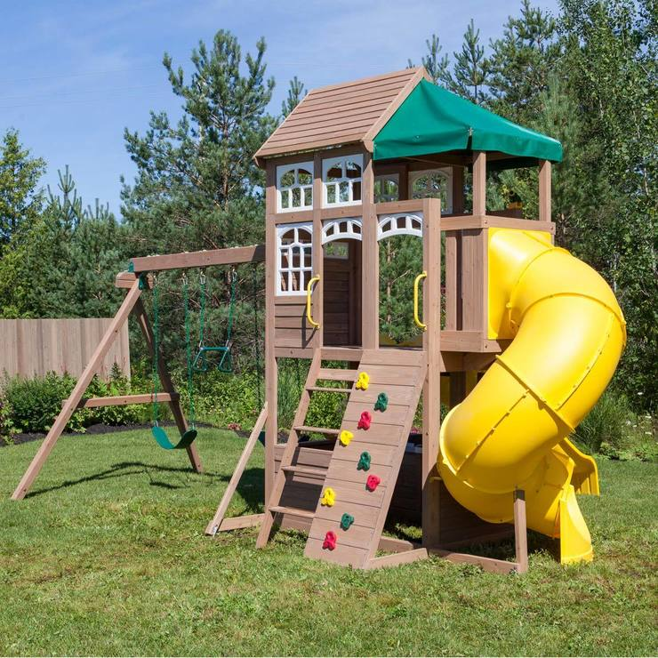Cedar Summit Lookout Lodge Playcentre 3 10 Years Costco Uk