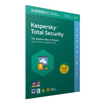 Kaspersky Total Security 2018 10 Devices, 1 Year