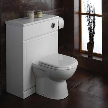 Tavistock Micra Back To Wall Toilet with Soft Close Seat - Model WCBW100S