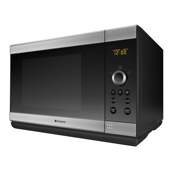 hotpoint mwh2824x 900w combi microwave in inox costco uk. Black Bedroom Furniture Sets. Home Design Ideas