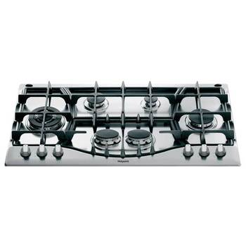 Hotpoint 90cm Built-in Gas Hob PHC 961 TS/IX/H in Inox