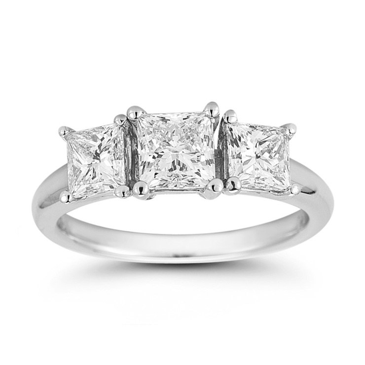paradise stone ring three diamond shop