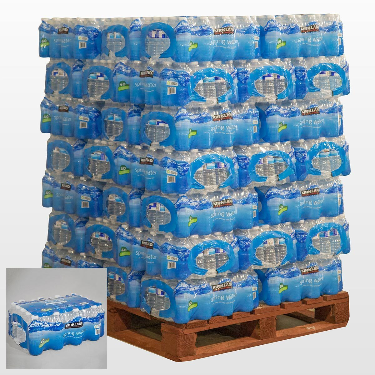 Kirkland Signature Spring Water 500ml Pallet Deals | Costco UK