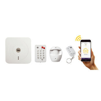 Yale SR-310+ Smart Home Alarm Starter Kit Plus